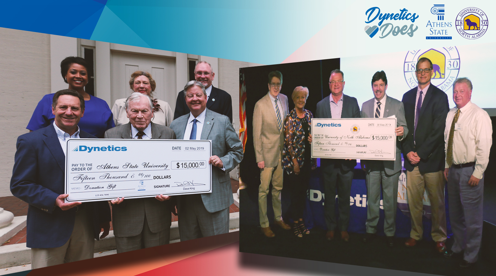 Dynetics gifts $30,000 to northern Alabama universities banner image