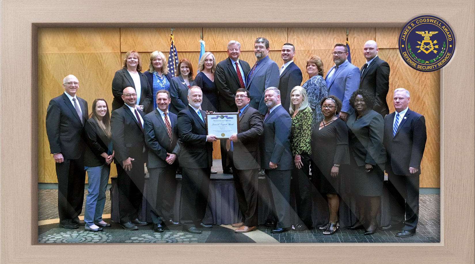 Defense Security Service honors Dynetics with the Cogswell Award banner image