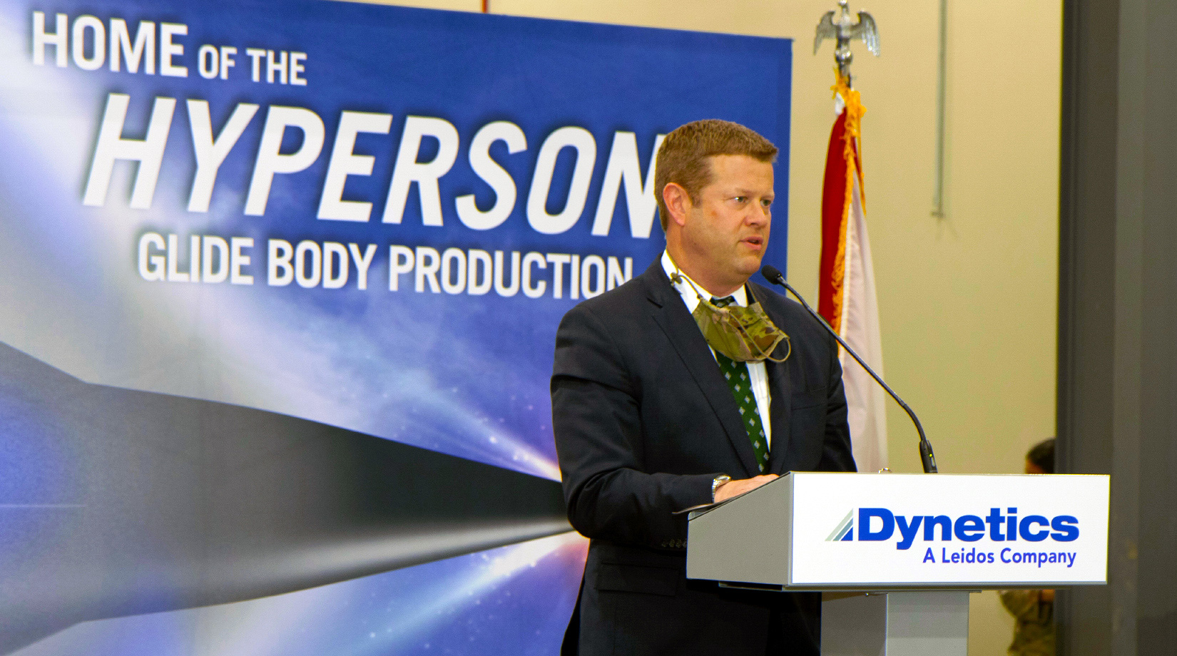 U.S. Secretary of the Army visits Dynetics Hypersonic integration facility banner image