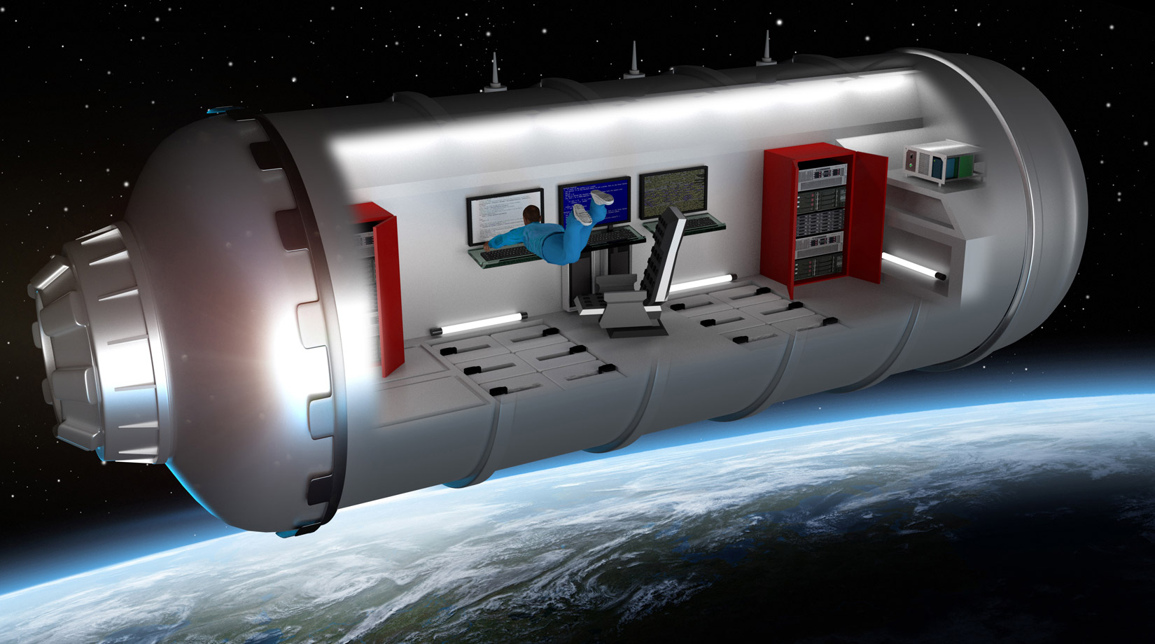 Dynetics to build carbon dioxide scrubbers for space thumbnail image