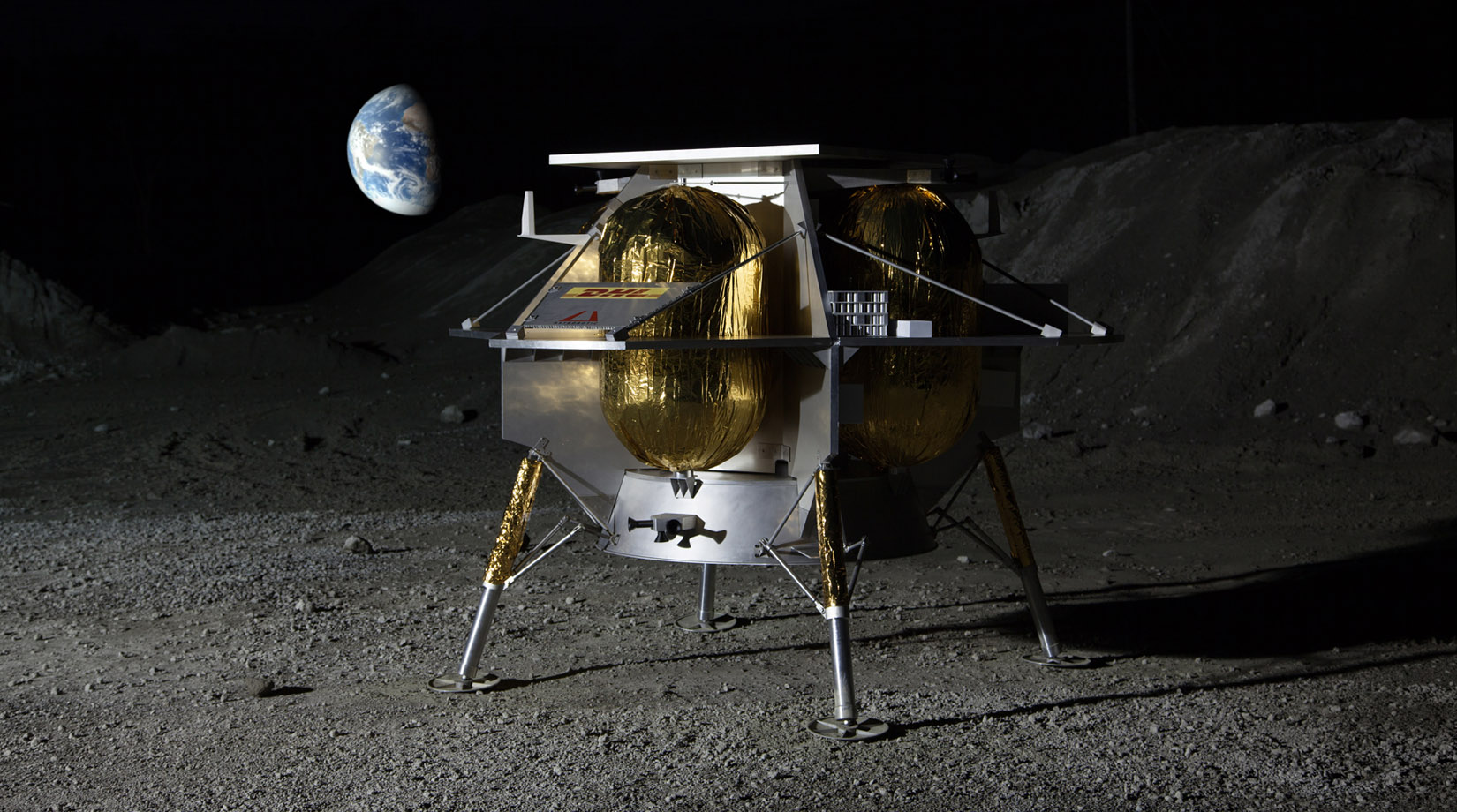Astrobotic Selects Dynetics as Propulsion Provider for the Peregrine Lunar Lander thumbnail image