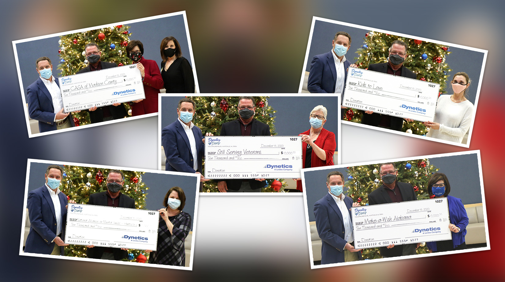 Dynetics Gives Back this Holiday Season banner image