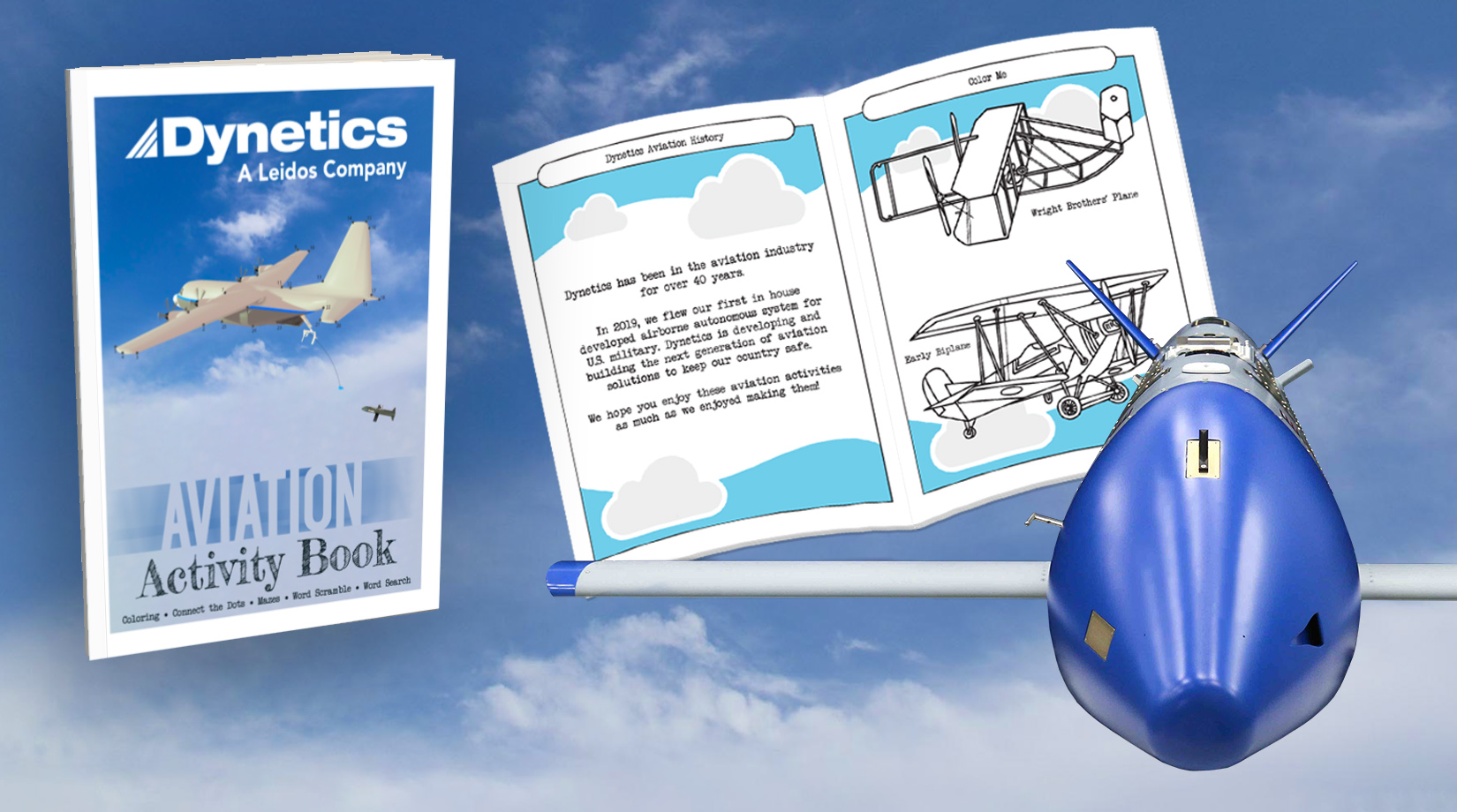 Dynetics Creates and Donates Activity Books to Madison County