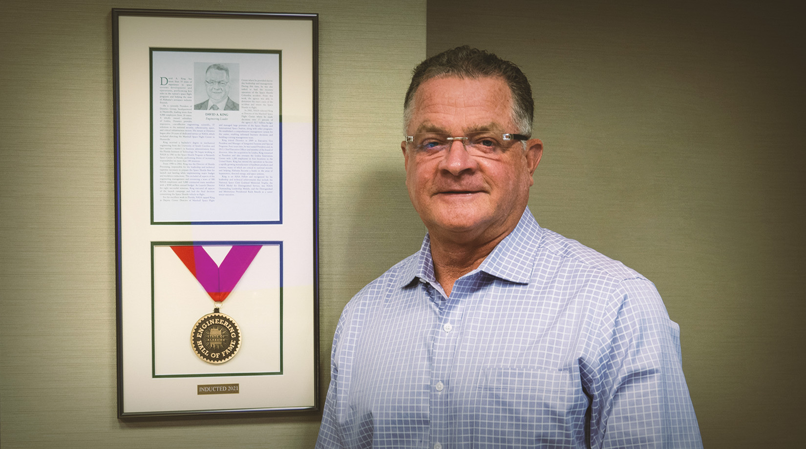 Dave King Joins State of Alabama Engineering Hall of Fame as 2021 Inductee thumbnail image
