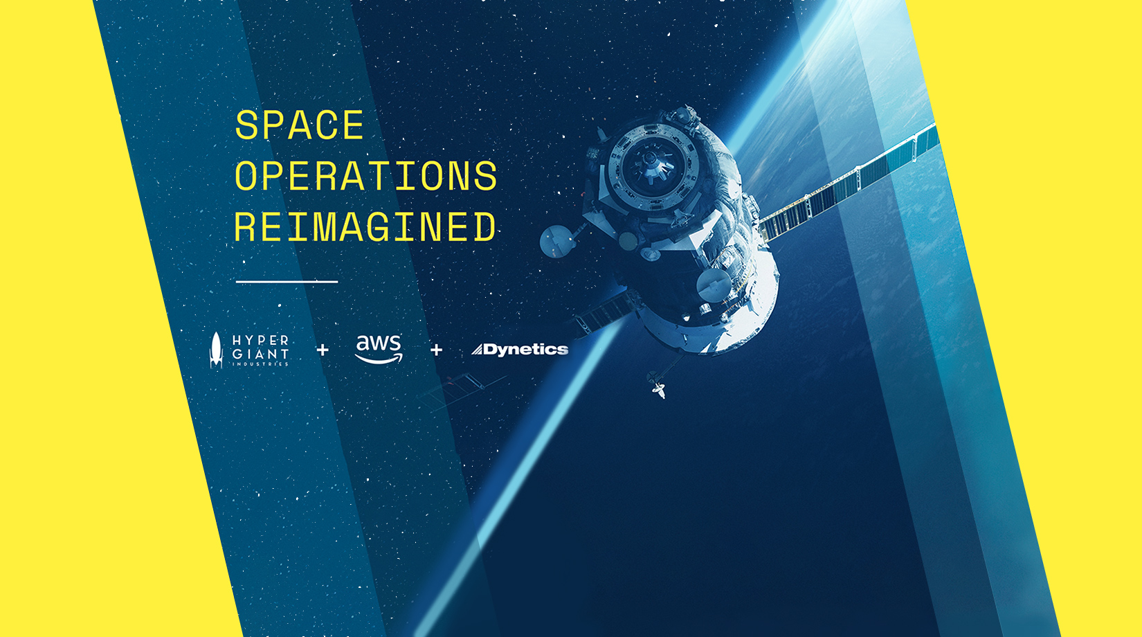 Tech companies partner to develop faster solutions for space operations banner image