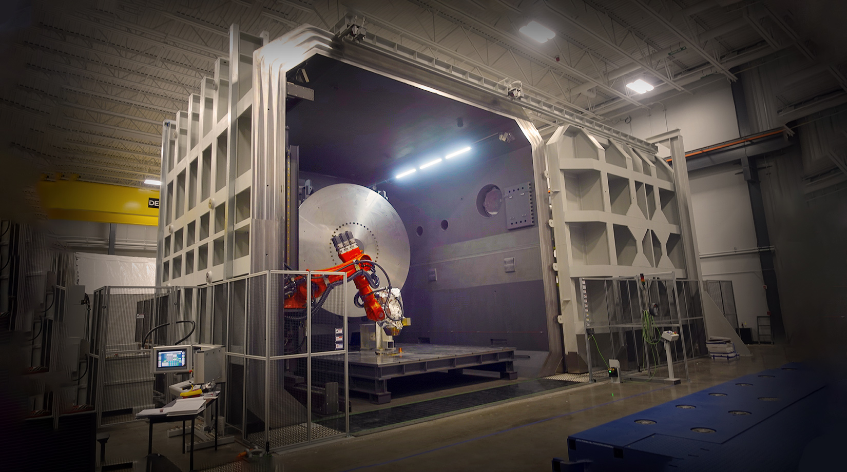 Dynetics Expands Welding Facility and Capabilities with New Electron-Beam System banner image